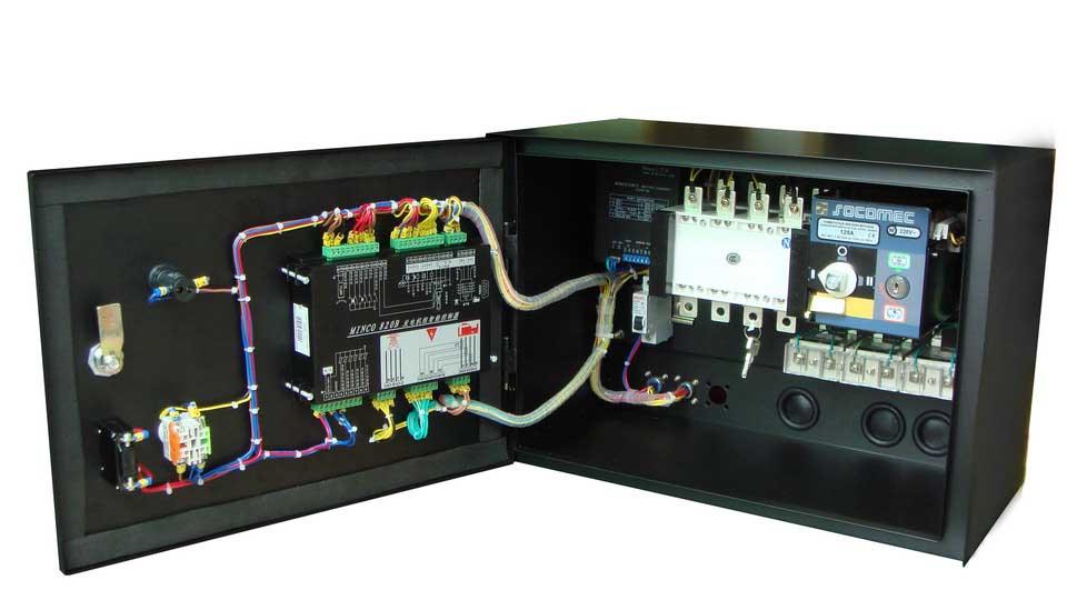 Generator-Set-Control-Panel
